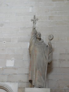Bernard of Clairvaux in the Basilica of Mary Magdalene