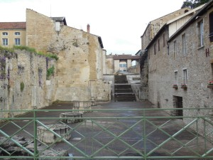 Cluny nave (all that remains of it)